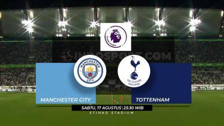 Susunan Pemain Liga Primer Inggris Manchester City vs Tottenham - INDOSPORT