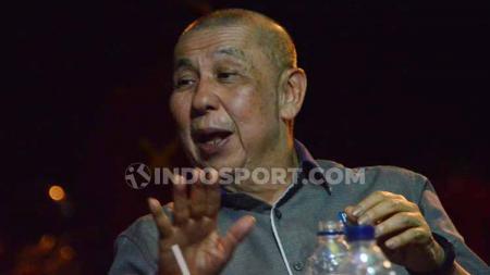 Ketua Umum PP Perbasi, Danny Kosasih angkat bicara mengenai polemik pemanggilan pemain untuk Timnas Basket Indonesia. - INDOSPORT