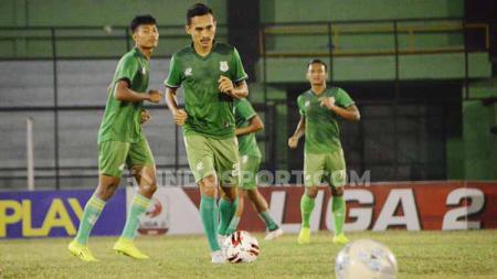 Kekalahan 0-2 PSMS Medan atas tuan rumah Persiraja Aceh pada pekan ke-11 Liga 2 2019 wilayah Barat memicu kabar bahwa ada ancaman kepada wasit pertandingan. - INDOSPORT
