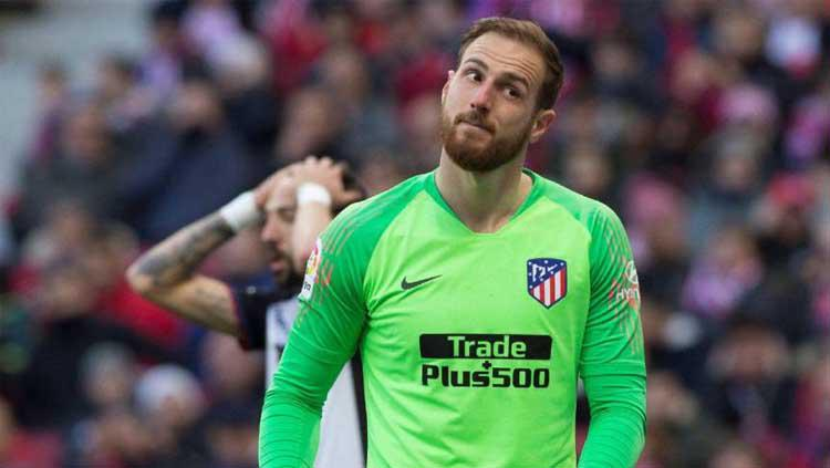Kiper Atletico Madrid, Jan Oblak. Copyright: sport360