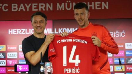 Ivan Perisic mengungkapkan perasaannya merapat ke Bayern Munchen. - INDOSPORT