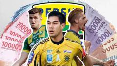 Indosport - Kevin van Kippersluis, Nick Kuipers, dan Omid Nazari.