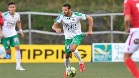 Xander Houtkoop, winger Belanda keturunan Indonesia. - INDOSPORT