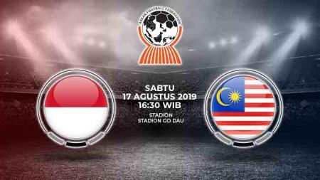 Penggawa Timnas U-18 tampak menitikkan air mata kala Indonesia Raya berkumandang sebelum dimulainya semifinal Piala AFF U-18 2019 melawan Malaysia (17/8/19). - INDOSPORT