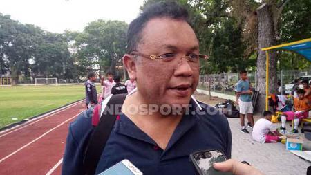 CEO Tiga Naga Pekanbaru, Rudi Sinaga. - INDOSPORT