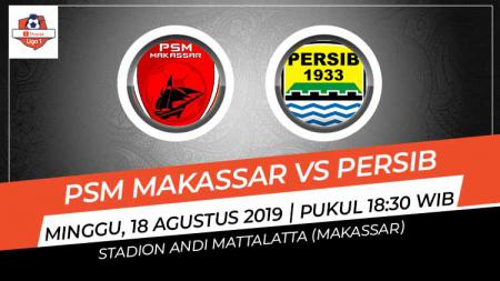 Pertandingan PSM Makassar vs Persib Bandung. - INDOSPORT