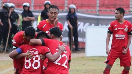Semen Padang meraih kemenangan perdana di Liga 1 2019, Jumat (16/08/19), di Stadion H. Agus Salim. - INDOSPORT