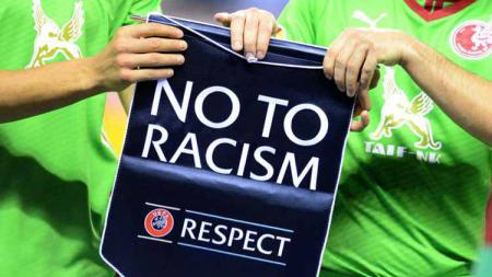Say No Racism in Football - INDOSPORT