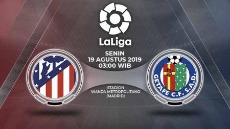 Susunan Pemain Pertandingan Atletico Madrid vs Getafe. - INDOSPORT