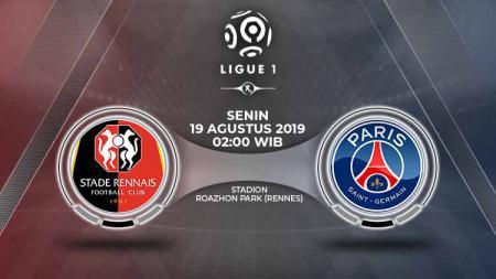 Ligue 1 Prancis pada hari Senin (19/08/19) dini hari bakal memainkan laga antara Rennes vs Paris Saint-Germain (PSG). Berikut prediksi pertandingannya. - INDOSPORT