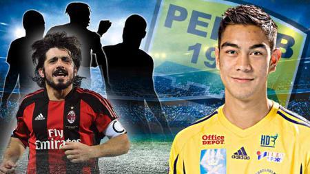 4 Legenda AC Milan yang pernah merasakan sulitnya hadapi pemain anyar Persib, Omid Nazari. - INDOSPORT