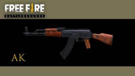 Senjata AK di game Free Fire - INDOSPORT