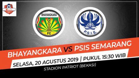 Pertandingan Bhayangkara FC vs PSIS Semarang. - INDOSPORT