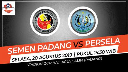 Pertandingan Semen Padang vs Persela Lamongan. - INDOSPORT