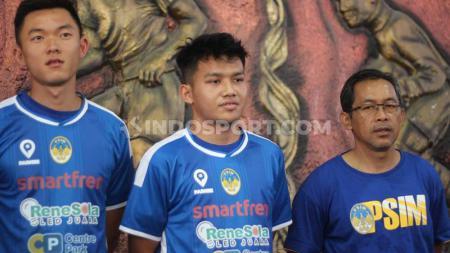PSIM Yogyakarta resmi memperkenalkan enam pemain baru yakni Hendra Wijaya, Saldy (PSM), Achmad Mahrus Bahtiar (Barito Putera), Nugroho Fachturohman (Persija), Sutanto Tan (Bali United), dan Witan Sulaeman di Wisma PSIM, Minggu (18/08/19). - INDOSPORT