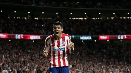 Atletico Madrid menunjukkan konsistensinya di kancah LaLiga Spanyol 2019/20 dengan memenangi 3 laga awal. - INDOSPORT