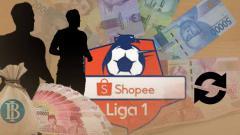 Indosport - Tranfer pemain Liga 1 2019.