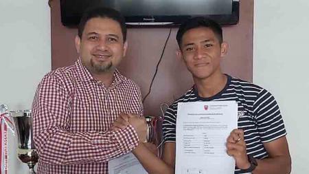 Firza Andika resmi gabung PSM Makassar. - INDOSPORT