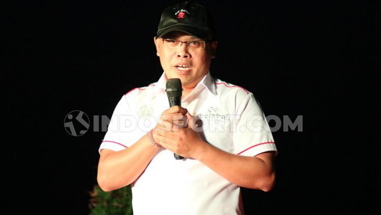 Ketua Umum Yayasan Gobolabali, I Gusti Putu Agung Nuaba Copyright: Nofik Lukman Hakim/INDOSPORT