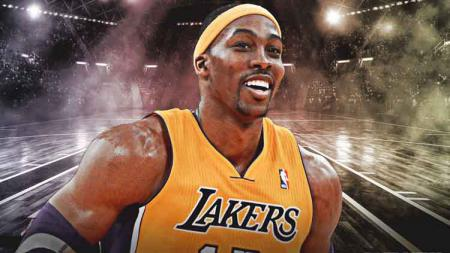 Dwight Howard, pemain LA Lakers. - INDOSPORT