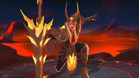 Skin Epic Leomord bernama Inferno Soul. - INDOSPORT