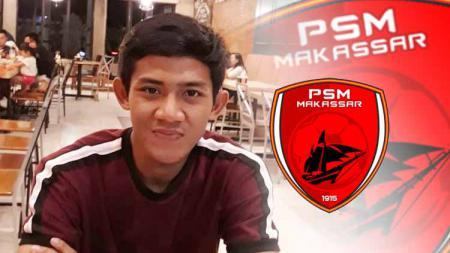 Bek kiri Timnas Indonesia milik PSM Makassar, Firza Andika, disebut sudah bisa dimainkan kontra Barito Putera pada pekan ketiga Shopee Liga 1 2020. - INDOSPORT