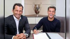 Indosport - Demi dapatkan tandem ideal Bruno Fernandes, Manchester United selangkah lagi datangkan Philippe Coutinho.