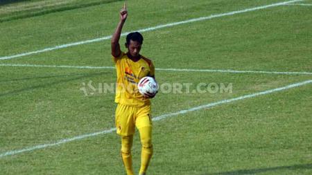 Striker Sriwijaya FC, Yongki Aribowo. - INDOSPORT