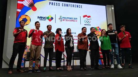 SEA Games 2019 Filipina bakal disiarkan di Indonesia oleh salah satu stasiun televisi swasta. - INDOSPORT