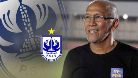 Pelatih baru PSIS Semarang, Bambang Nurdiansyah. Foto: topskor.id/Jessica Margaretha - INDOSPORT