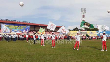 Para atlet Papua yang akan menjalani pemusatan latihan (TC) terpusat. - INDOSPORT