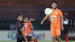 Indosport - Laga pertandingan Borneo FC vs Persipura Jayapura pada Liga 1 2019.