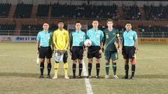 Indosport - Australia vs Malaysia pada final Piala AFF U-18 2019, Senin (19/08/19).