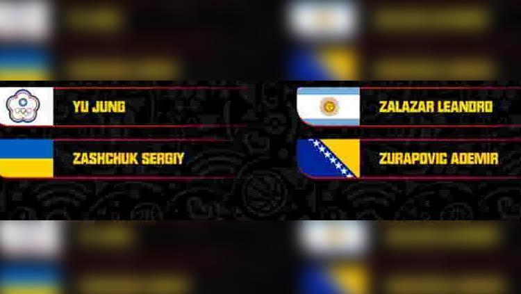 Daftar Nama Wasit FIBA World Cup 2019 Copyright: FIBA