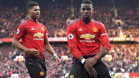 Real Madrid rela menawarkan empat pemain demi dapatkan gelandang klub Liga Inggris Manchester United, Paul Pogba di bursa transfer. - INDOSPORT