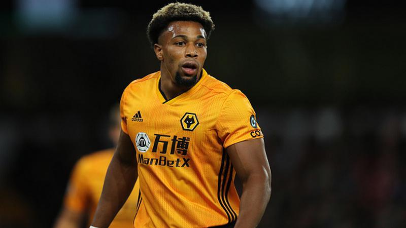 Adama Traore, pemain Wolves Copyright: Matthew Ashton - AMA/Getty Images