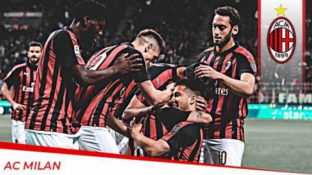 Profil Tim AC Milan. Foto: Emilio Andreoli/Getty Images - INDOSPORT