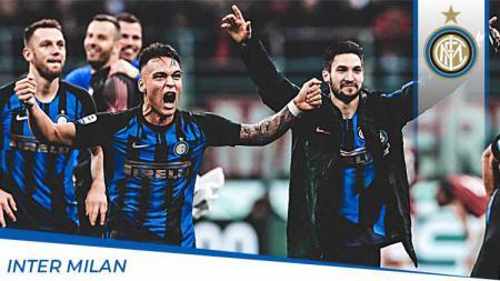 Inter Milan bisa diuntungkan dengan adanya perubahan format play-off di kompetisi Serie A Liga Italia musim ini. - INDOSPORT