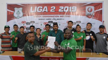 7 Pemain baru PSMS Medan resmi dikontrak. (Foto: Aldi Aulia Anwar/INDOSPORT) - INDOSPORT