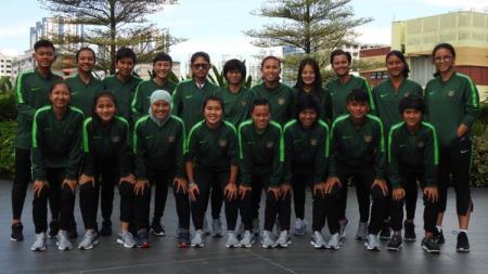 Timnas Putri Indonesia gagal meraih hasil bagus di laga pembuka Piala AFF Wanita 2019 setelah kalah telak 0-7 dari Myanmar, Jumat (16/08/19). - INDOSPORT