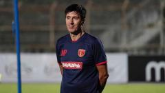 Indosport - Pelatih baru Badak Lampung FC, Milan Petrovic.
