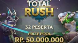 Total Rush Summer Season 1 berhadiah Rp50 juta.