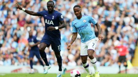 Manchester City vs Tottenham Hotspur. - INDOSPORT