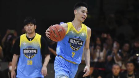 Jeremy Lin dalam event 3rd Annual All-Star Game di China. - INDOSPORT