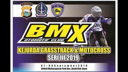 Ratusan Crosser Ramaikan BMX Kejurda Grasstrack & Motocross Seri III Bone - INDOSPORT