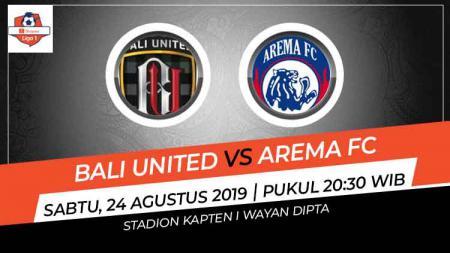 Prediksi Bali United vs Arema FC di Liga 1 2019. - INDOSPORT