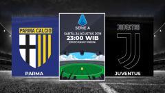 Indosport - Parma vs Juventus di Serie A Italia musim 2019/10.