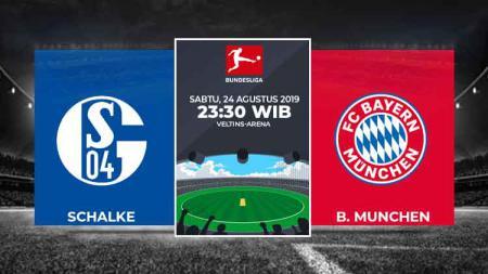 Prediksi Schalke vs Bayern Munchen di Bundesliga Jerman musim 2019/20. - INDOSPORT