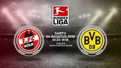 Link Live Streaming Pertandingan FC Koln vs Borussia Dortmund.