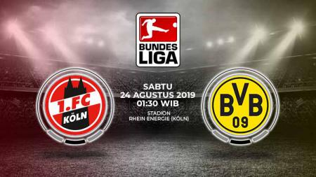 Link Live Streaming Pertandingan FC Koln vs Borussia Dortmund. - INDOSPORT